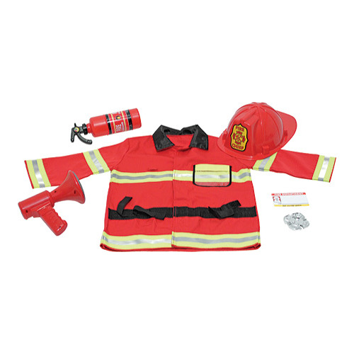 Children's Melissa & Doug Fire Chief Role Play Costume Set