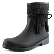 Jessica Simpson Racyn Women Round Toe Synthetic Black Rain Boot