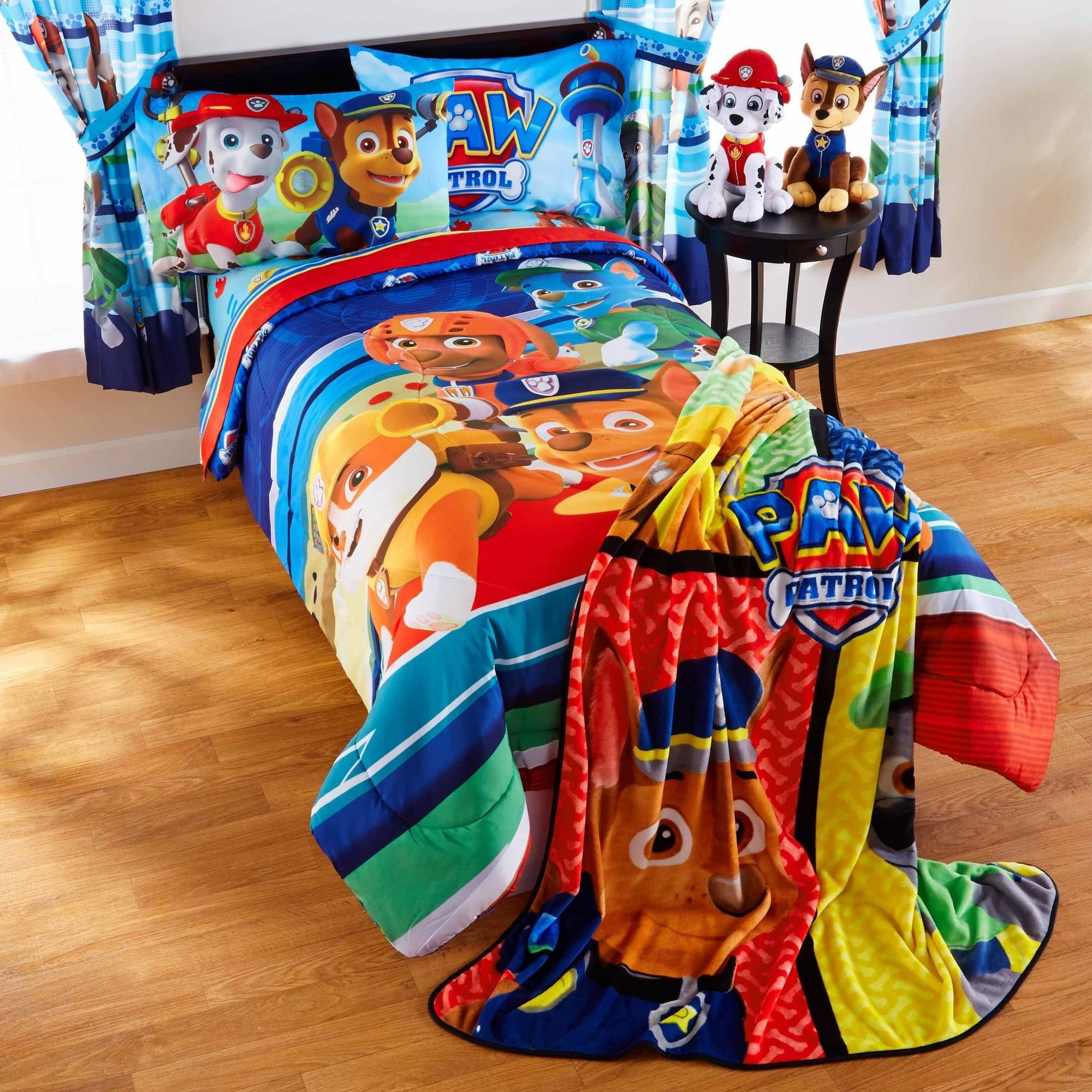 Perfect Paw Patrol Puppy Hero Bed in Bag Bedding Set - Walmart.com GP79