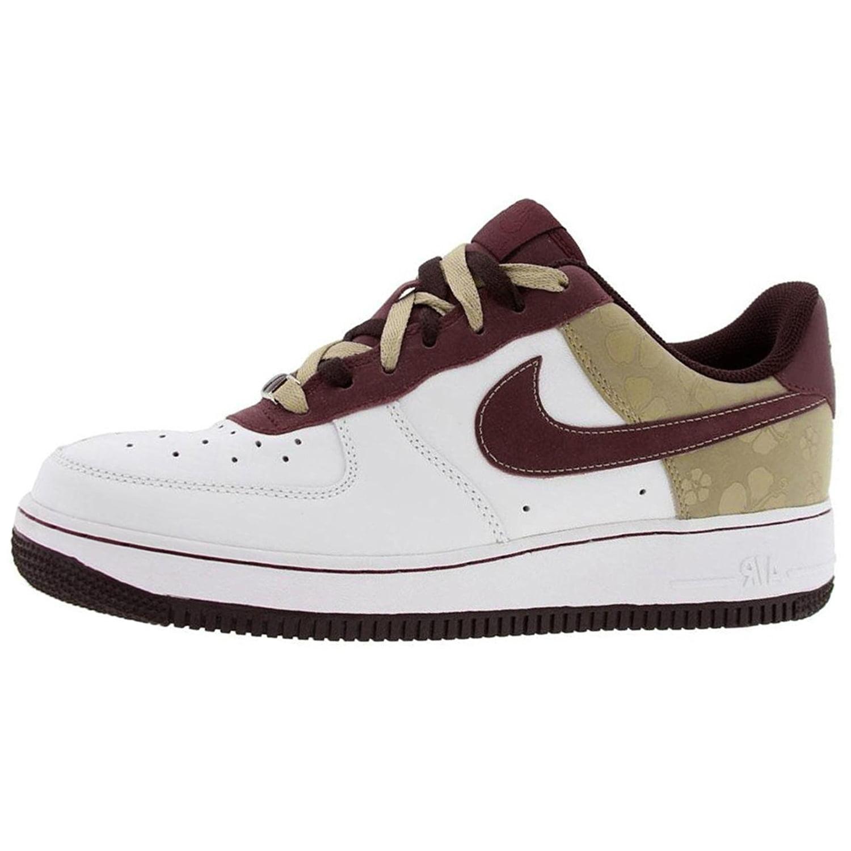 Nike Women's Air 11 Force 1 '07 Sneakers 315115 Sz 11 Air Deep Garnet/White c4282a