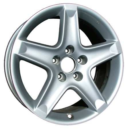 2004-2006 Acura TL  17x8 Aluminum Alloy Wheel, Rim Bright Sparkle Silver Full Face Painted-71733 - Silver Face