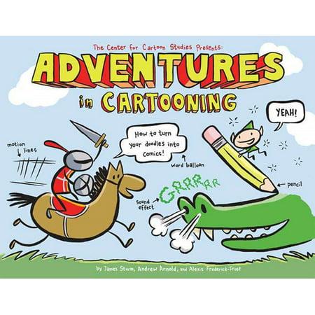 Adventures in Cartooning : How to Turn Your Doodles Into Comics - Cartoon Halloween Doodles