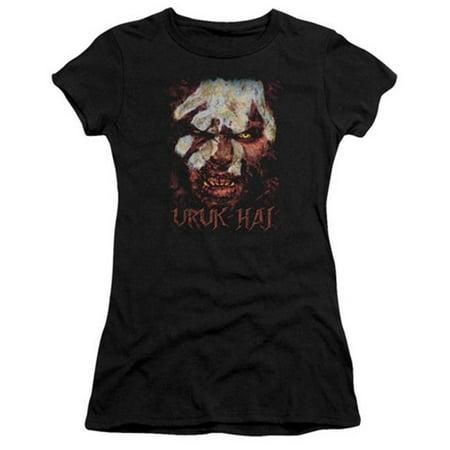 The Lord of The Rings Movie Lurtz Uruk Hai Stare Juniors Sheer T-Shirt