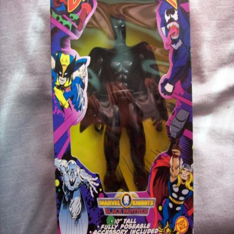 "Toy Biz Marvel Universe Marvel Knights Black Panther 10"" ..."
