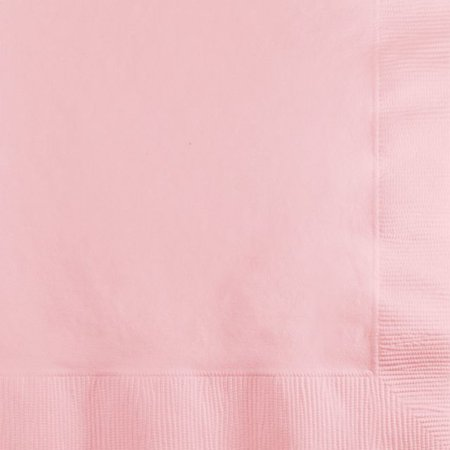 Touch of Color Beverage Napkins, 3-Ply, Classic Pink, 50 Ct (Classic Beverage)
