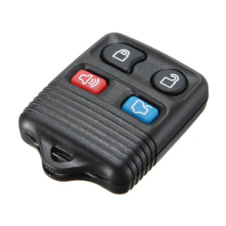 4 BT Keyless Entry Remote Key Fob Clicker Transmitter Keycase Battery Inside for Ford Escort Escape Expedition 98-2011