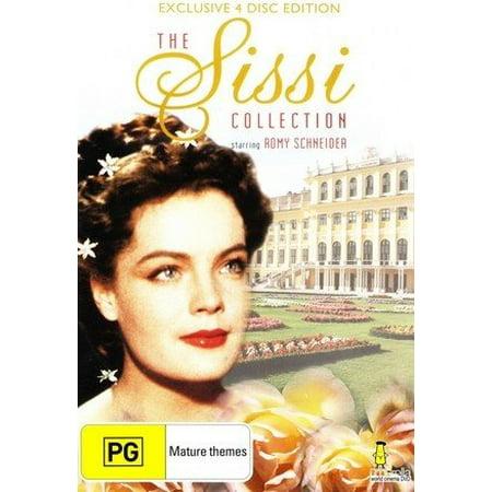The Sissi Collection - 4-DVD Set ( Sissi / Sissi - Die junge Kaiserin / Sissi - Schicksalsjahre einer Kaiserin / Mädchenjahre einer Königin ) ( Sissi / Sissi: The Young Empress / Sissi: The Fateful Ye (Sonnenbrillen Junge)