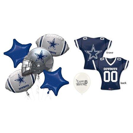 Dallas Cowboys NFC East 7 piece Balloon Bouquet (Balloons Price)