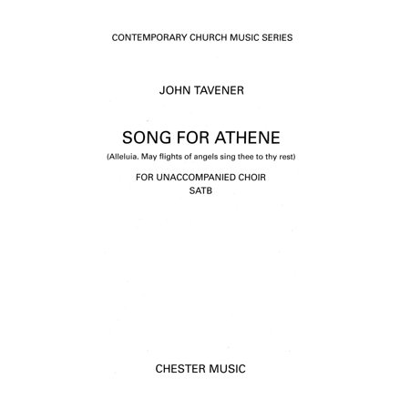 John Tavener: Song for Athene (Alleluia. May Flights of Angels Sing Thee to Thy Rest) - eBook