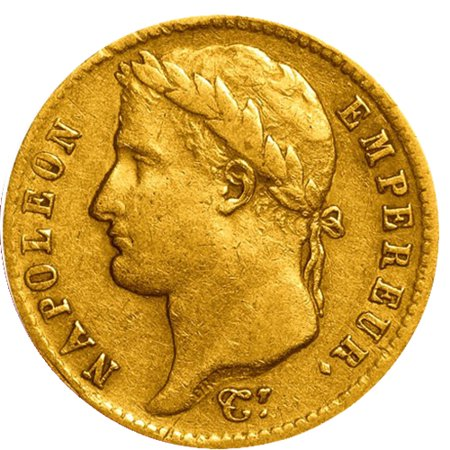 20 Franc French Gold Coin Avg Circulated - Random Year ()
