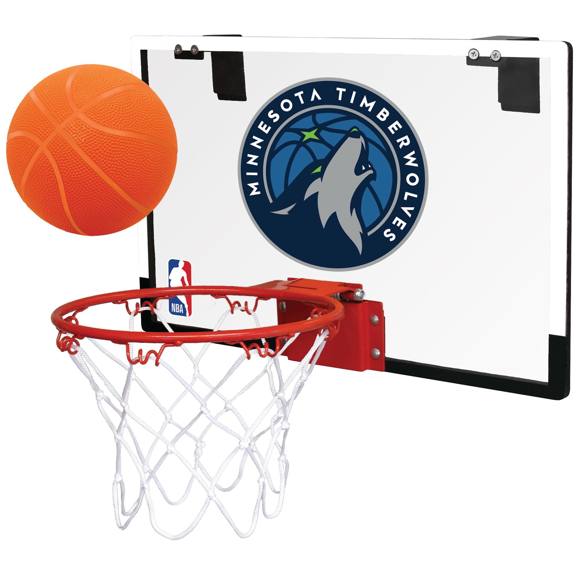 Rawlings NBA Game On Basketball Hoop Set, Minnesota Timberwolves by Rawlings