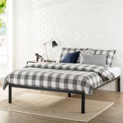 modern studio 14 metal platform bed multiple sizes - Queen Bed Frames With Storage