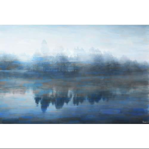 Parvez Taj  Lake Marmont - on Canvas  Wall Decor  Lake Marmont  Home Decor  Canvas Art  ;40 x 60