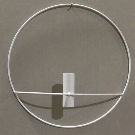 KABOER Geometric Round Gold 3D Geometric Round Candlestick Metal Wall Candle Holder Sconce (Fashion Metal)