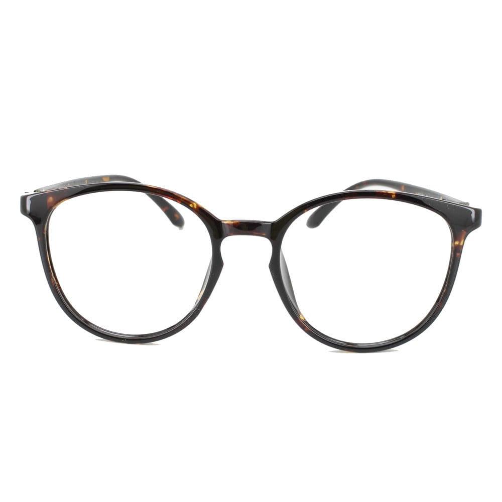 af0145684c Eye Buy Express Prescription Glasses Mens Womens Tortoiseshell Style  Lightweight Retro Style Reading Glasses Anti Glare grade - Walmart.com