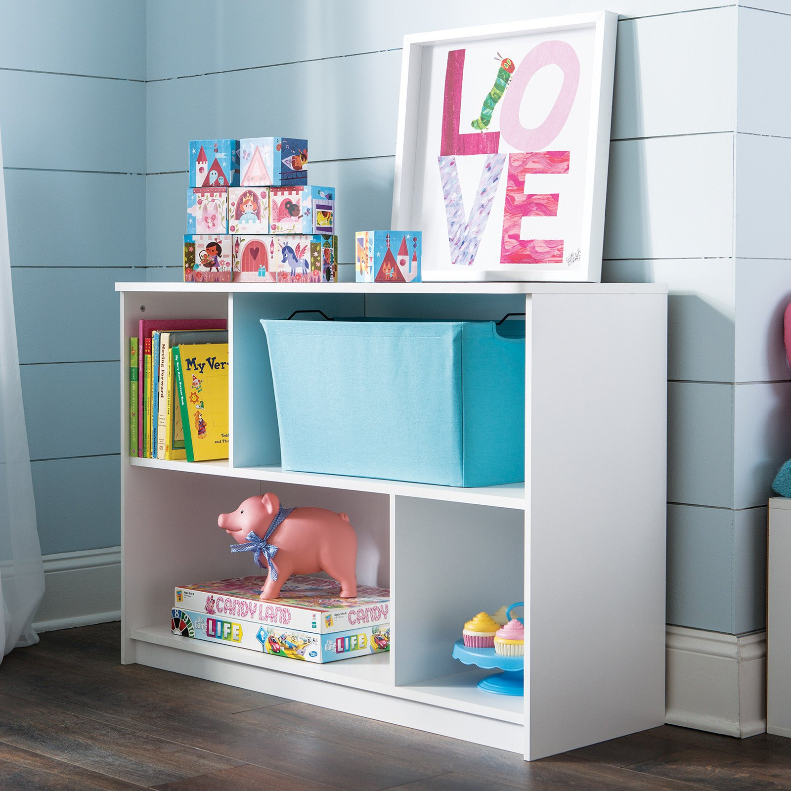 ClosetMaid KidSpace 2-Tier Offset Bookcase