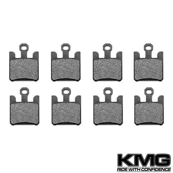 KMG 2004-2005 Kawasaki ZX12R ZX1200 B3 B4 Front Non-Metallic Organic NAO Disc Brake Pads Set