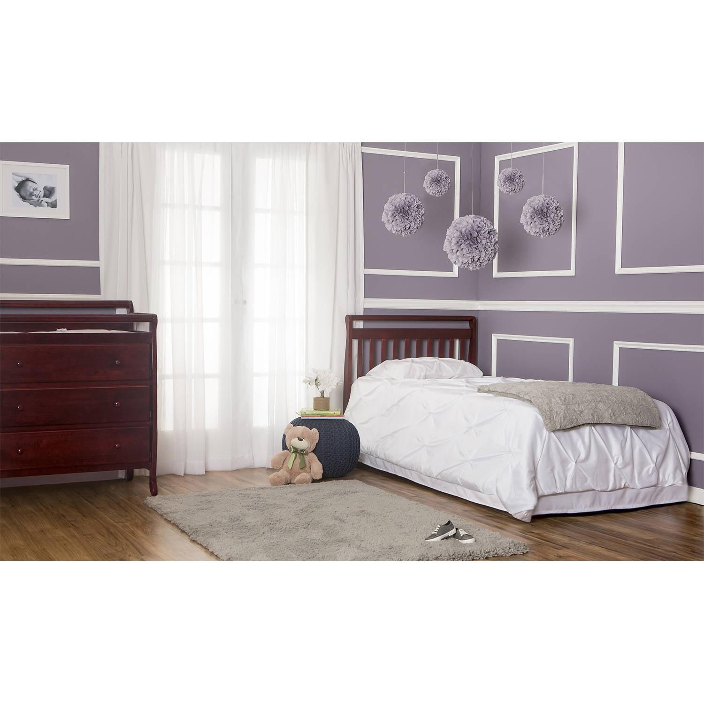 Dream On Me 4 In 1 Portable Convertible Mini Crib Espresso   Walmart.com