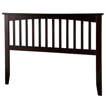 Leo & Lacey Queen Spindle Headboard in Espresso
