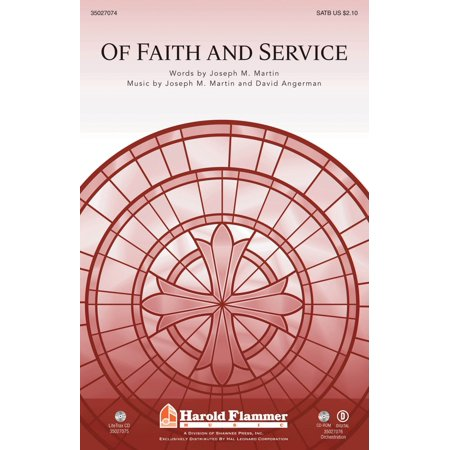 Shawnee Press Of Faith And Service  With Lead On  O King Eternal  Satb Composed By Joseph M  Martin