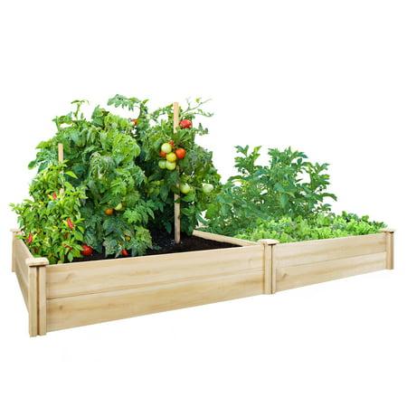 Greenes Fence 42 X 84 X 11 Cedar Raised Garden Bed