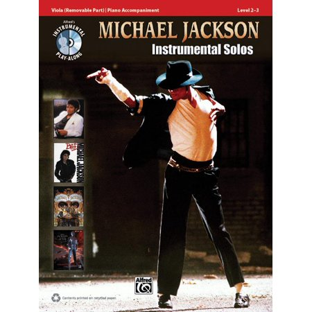 Alfred's Instrumental Play-Along: Michael Jackson - Instrumental Solos: Viola (Other) ()