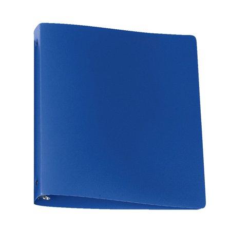 - School Smart Lightweight Poly Binder, 1 in, Blue