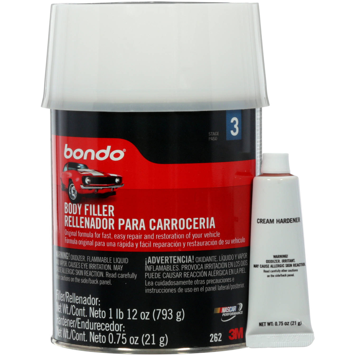 Bondo Lightweight Filler, Quart (US)
