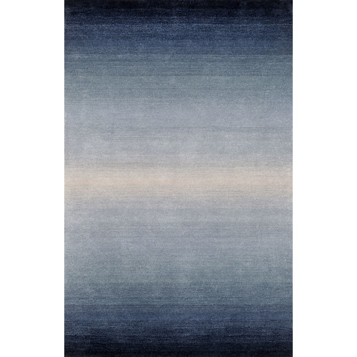 Liora Manne Ombre Blue Denim Horizon Area Rug