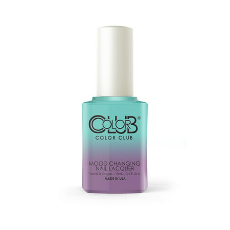 Color Club Mood Color Changing Thermal Nail Polish, Cool (Cool Colours)