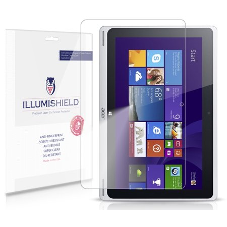 iLLumiShield Anti-Bubble/Print Screen Protector 2x for Acer Aspire Switch 10
