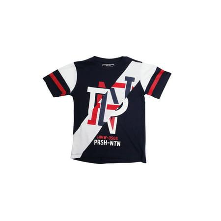 Parish Nation 100% Jersey Cotton Boys Short Sleeve Tee Shirt XL PN Logo Print