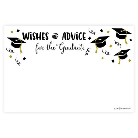 Mommy Advice Cards (Graduation Wishes and Advice Cards (50)