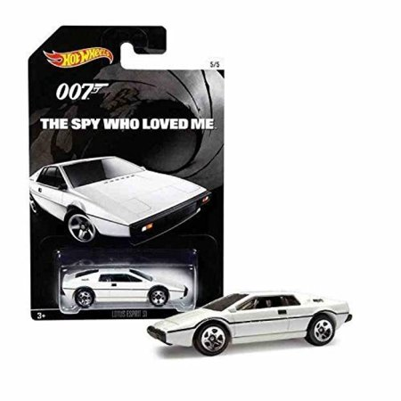 Hot Wheels, 2015 Exclusive James Bond 007, The Spy Who Loved Me Lotus Esprit S1 White 5/5 ()