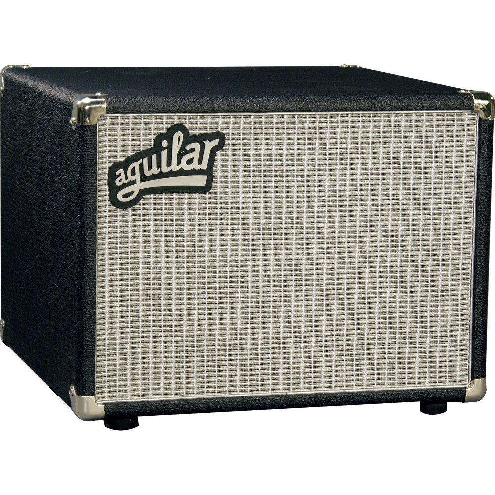 Image of aguilar db 112 bass cabinet, classic black, 8 ohm