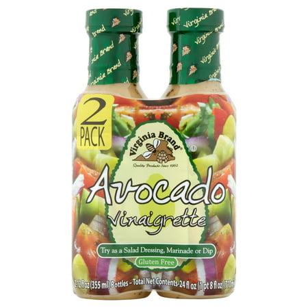 Virginia Brand Avocado Vinaigrette  12 Fl Oz  2 Pack