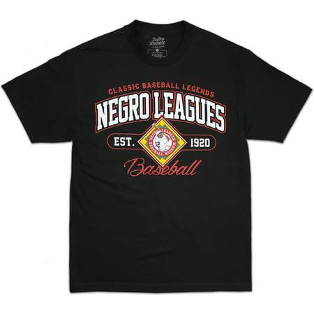 Negro Leagues Baseball Est. 1920 Legends S7 Mens Tee [Black - XL]