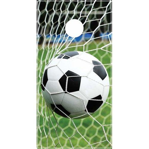 Lightning Cornhole Soccer Net Cornhole Board by