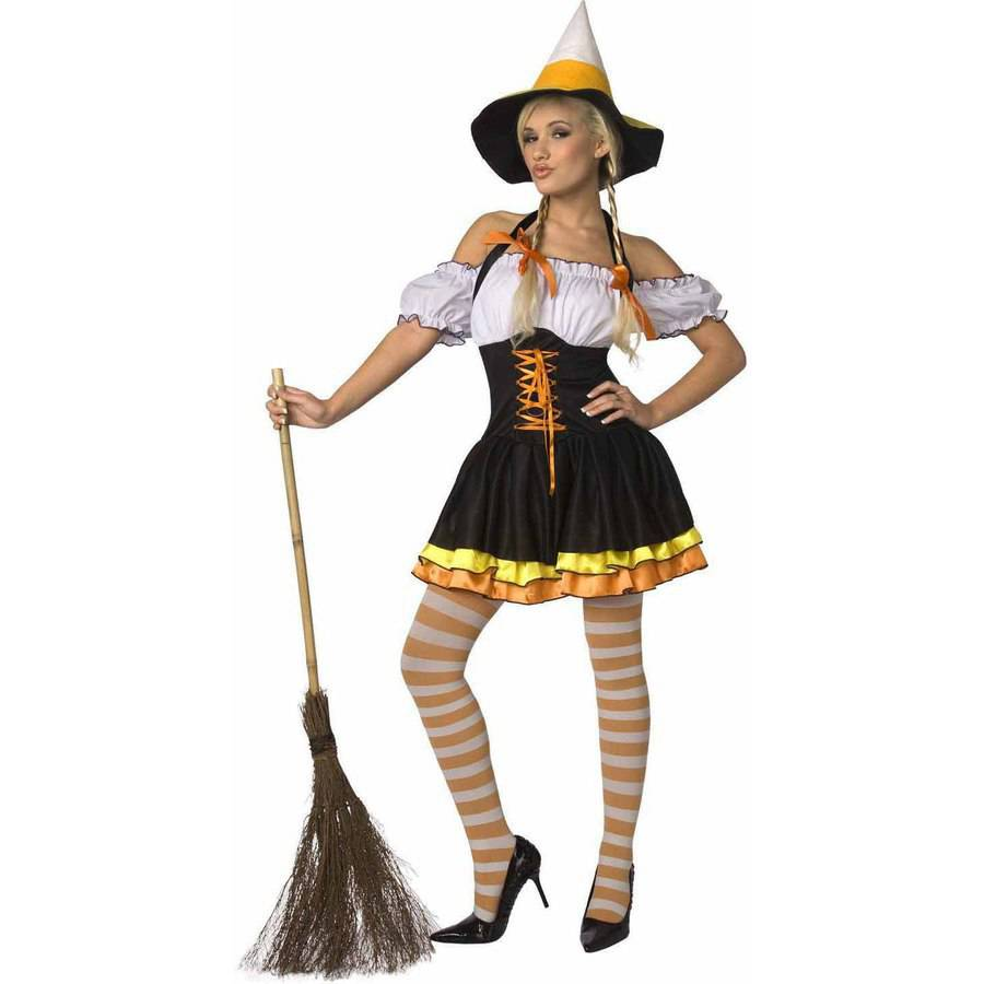 Adult candy corn costume halloween congratulate