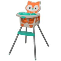 Infantino Convertible 4-in-1 High Chair, Fox