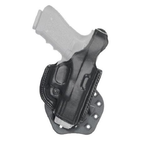 Aker Leather H268BPRU-SS320 Black RH Paddle XR19 Open Top Holster Sig P320 Open Top Sig