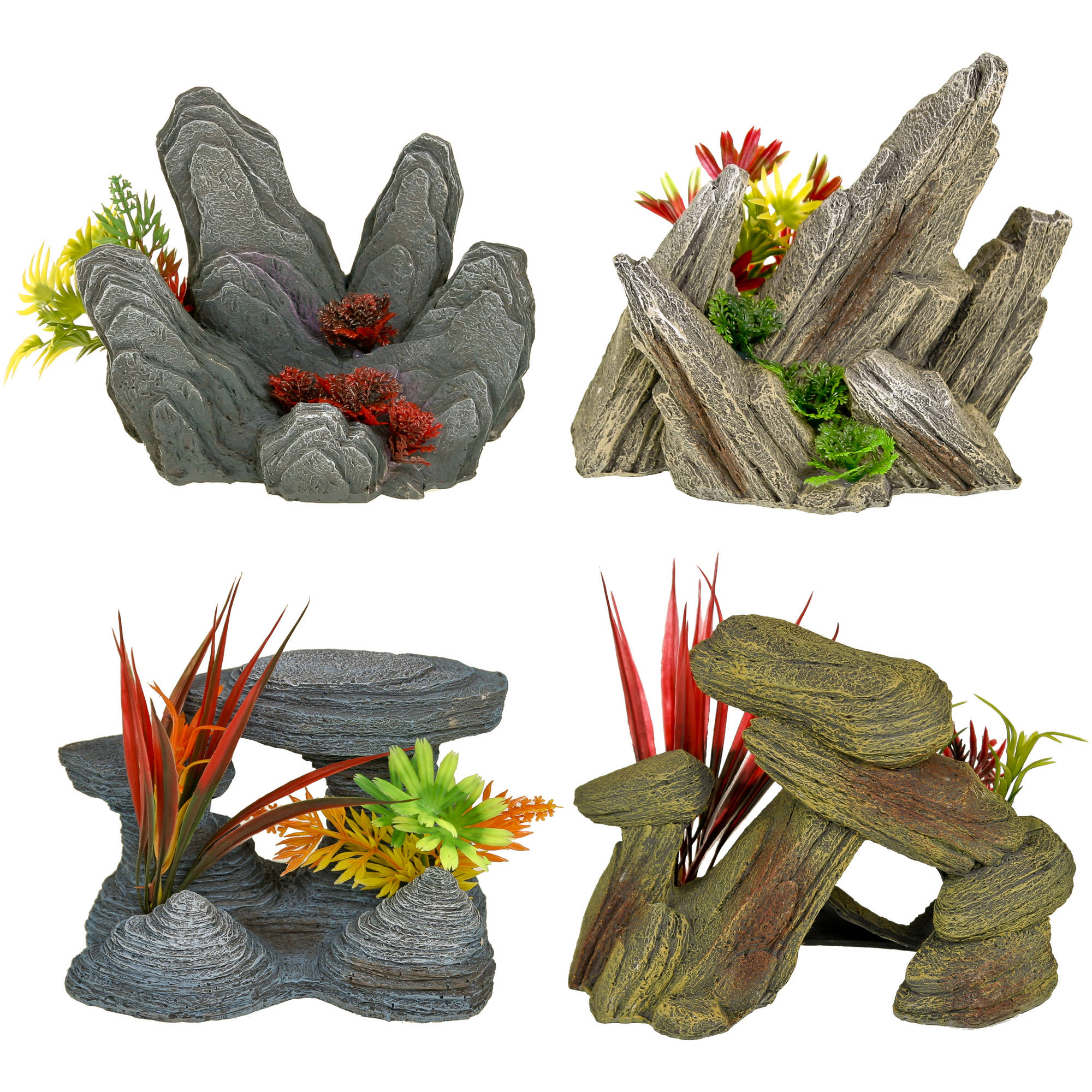 Aqua Culture Rock Out Croppings Aquarium Ornament by blue ribbon pet products inc