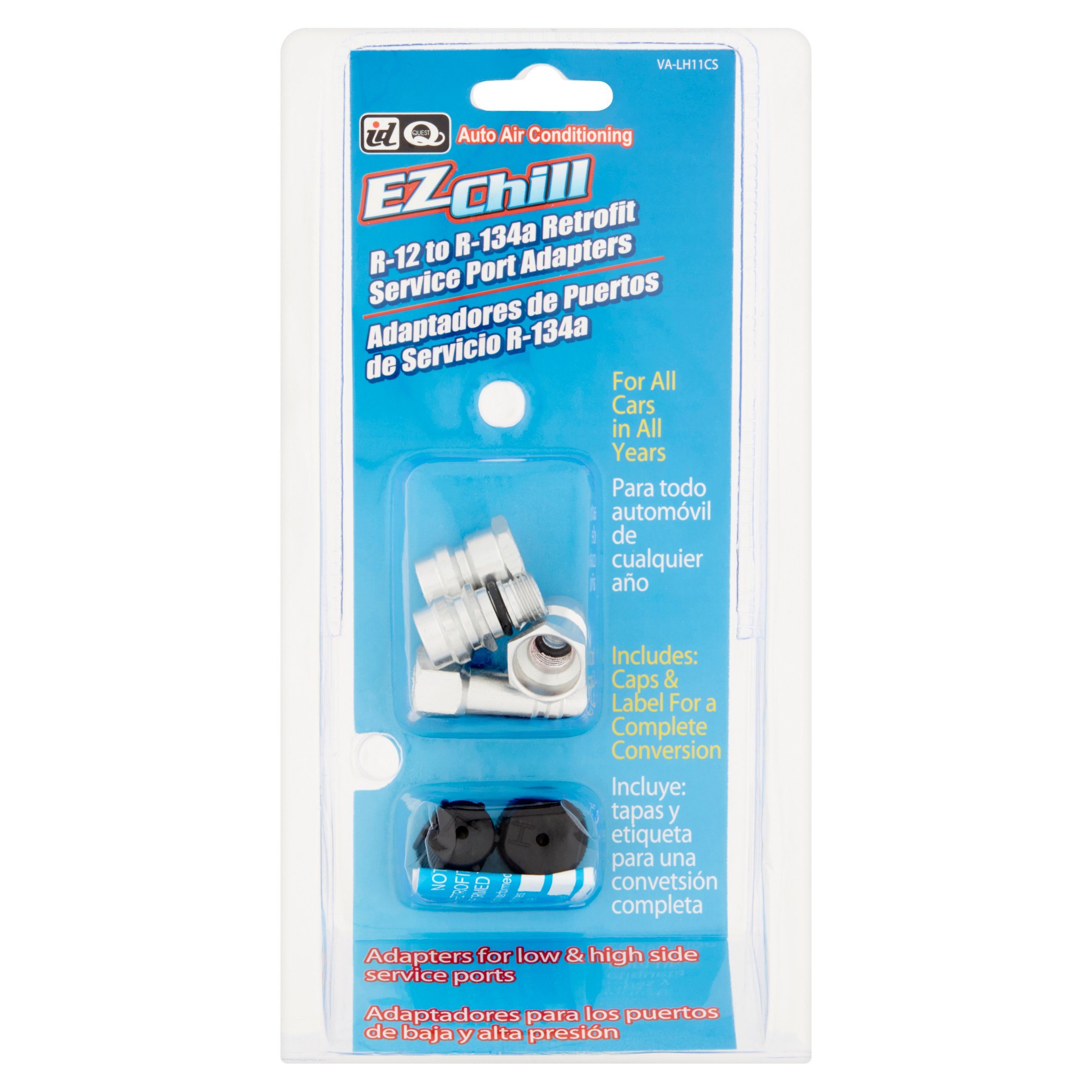 ID Quest Ez Chill R-12 to R-134a Retrofit Service Port Adapters