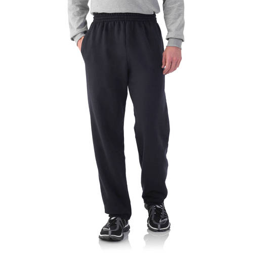 Big Men's Fleece Elastic Bottom Pants