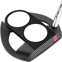 Odyssey 74249 35 in. O-Works Black 2-Ball Fang Putter - Winn AVS Midsize Pistol