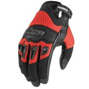 Icon Twenty Niner 29 Textile Gloves Red