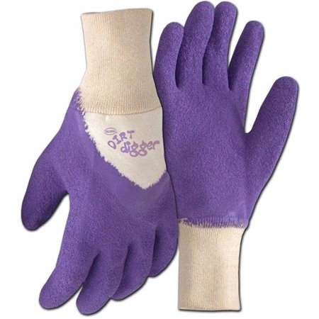 Boss Gloves 8403VM Medium Violet Dirt Digger Gardening Gloves