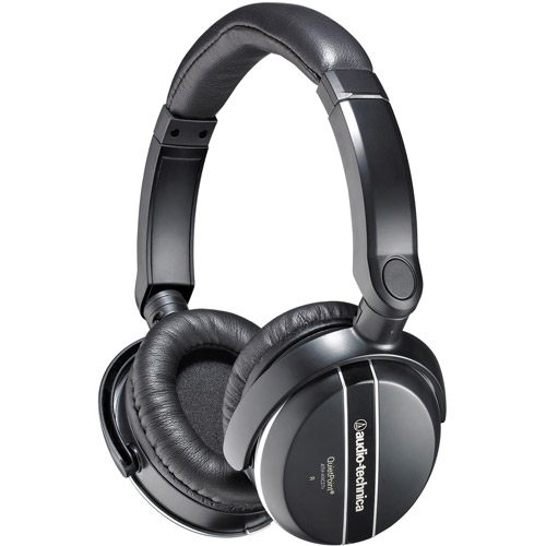 Audio Technica QuietPoint Active Noise-Canceling Headphones, ATH-ANC27X