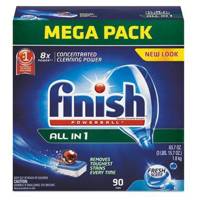 FINISH Powerball Dishwasher Tabs FINISH Powerball Dishwasher Tabs