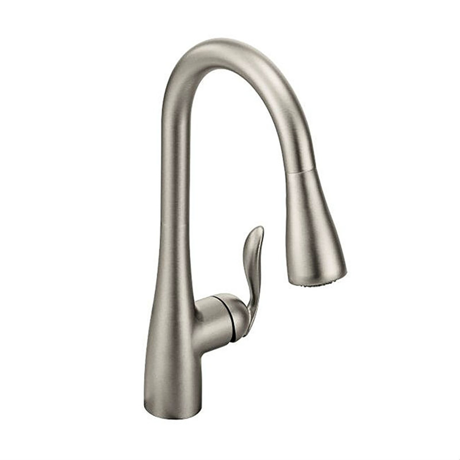 Superbe Moen 7594SRS Arbor Single Handle Kitchen Faucet With Pullout Spray,  Available In Various Colors   Walmart.com